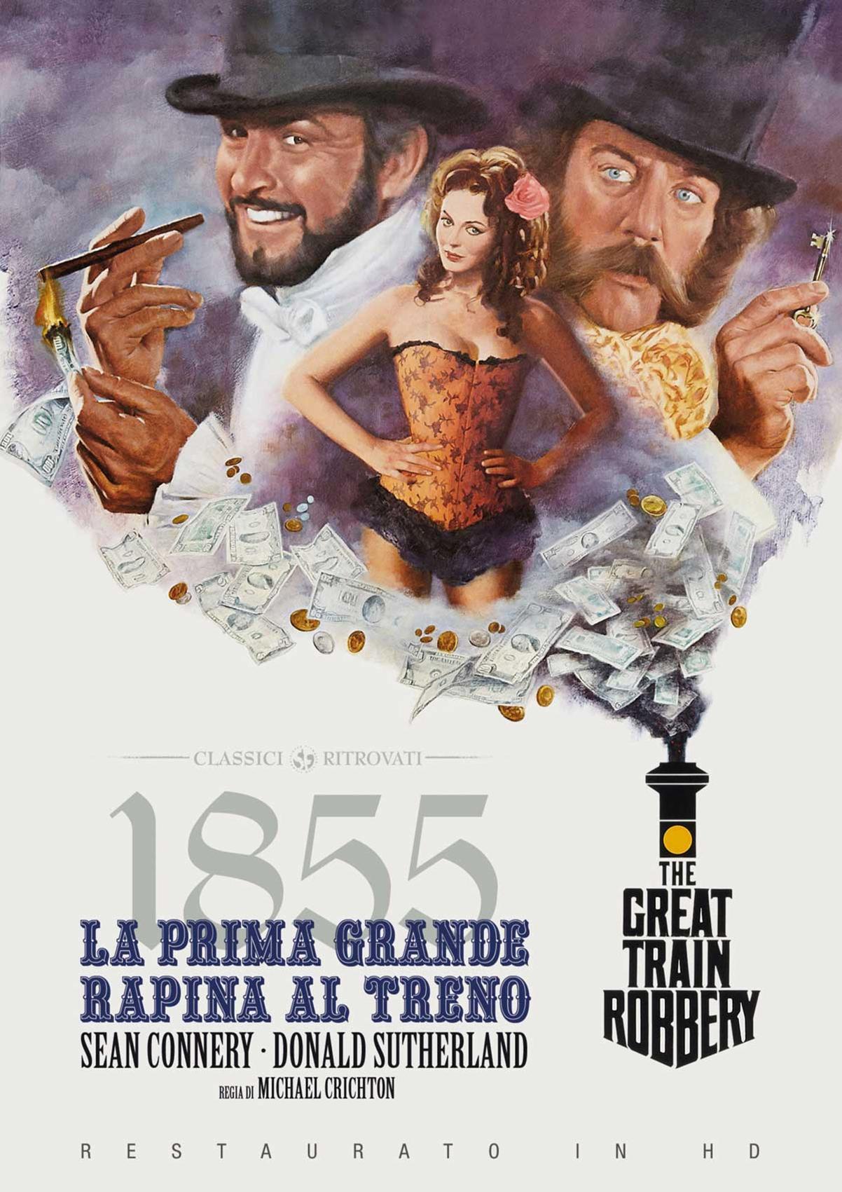 1855: LA PRIMA GRANDE RAPINA AL TRENO (RESTAURATO IN HD) (DVD)