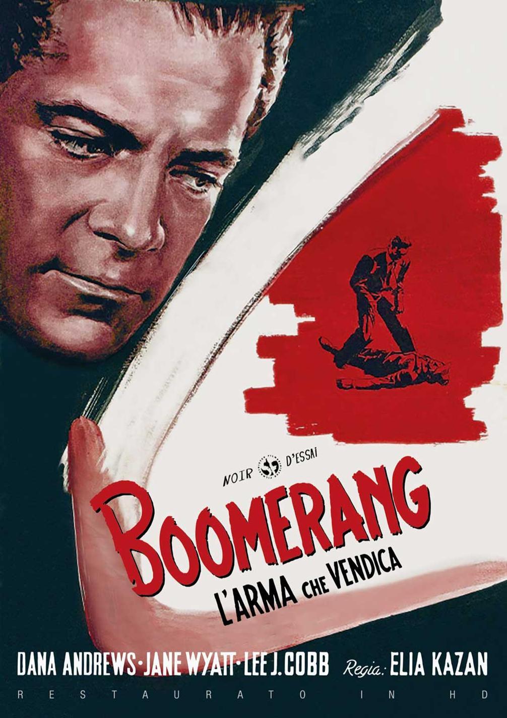 BOOMERANG - L'ARMA CHE VENDICA (RESTAURATO IN HD) (DVD)
