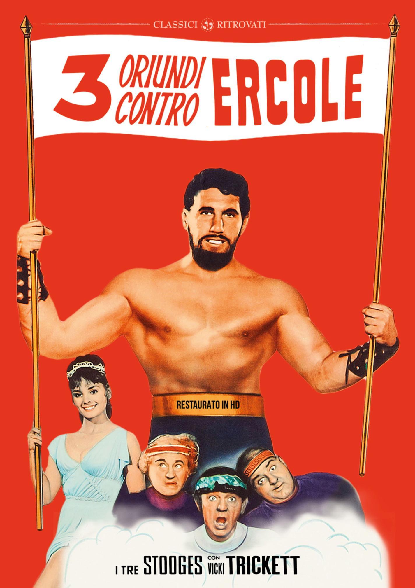 TRE ORIUNDI CONTRO ERCOLE (RESTAURATO IN HD) (DVD)