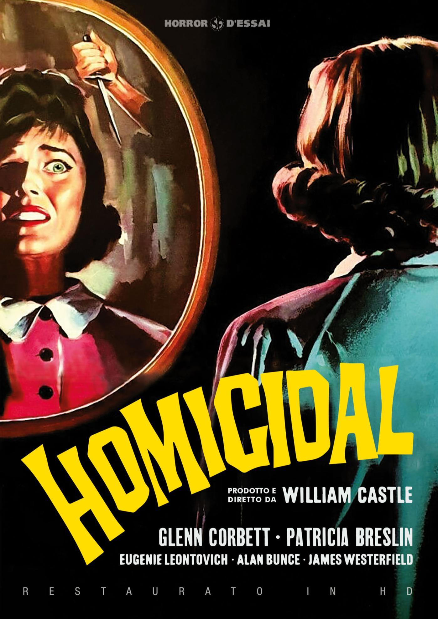 HOMICIDAL (RESTAURATO IN HD) (DVD)