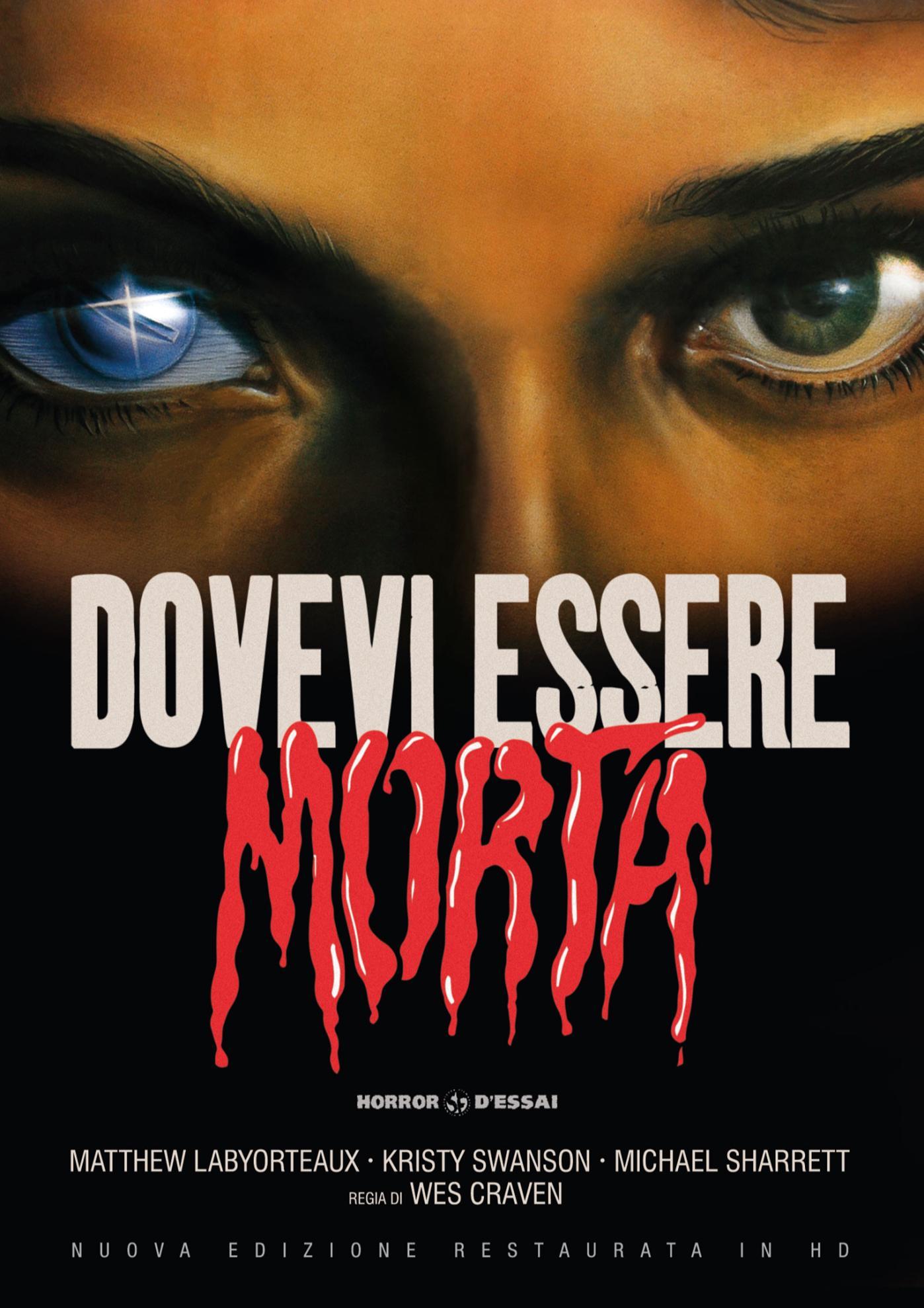DOVEVI ESSERE MORTA (RESTAURATO IN HD) (DVD)