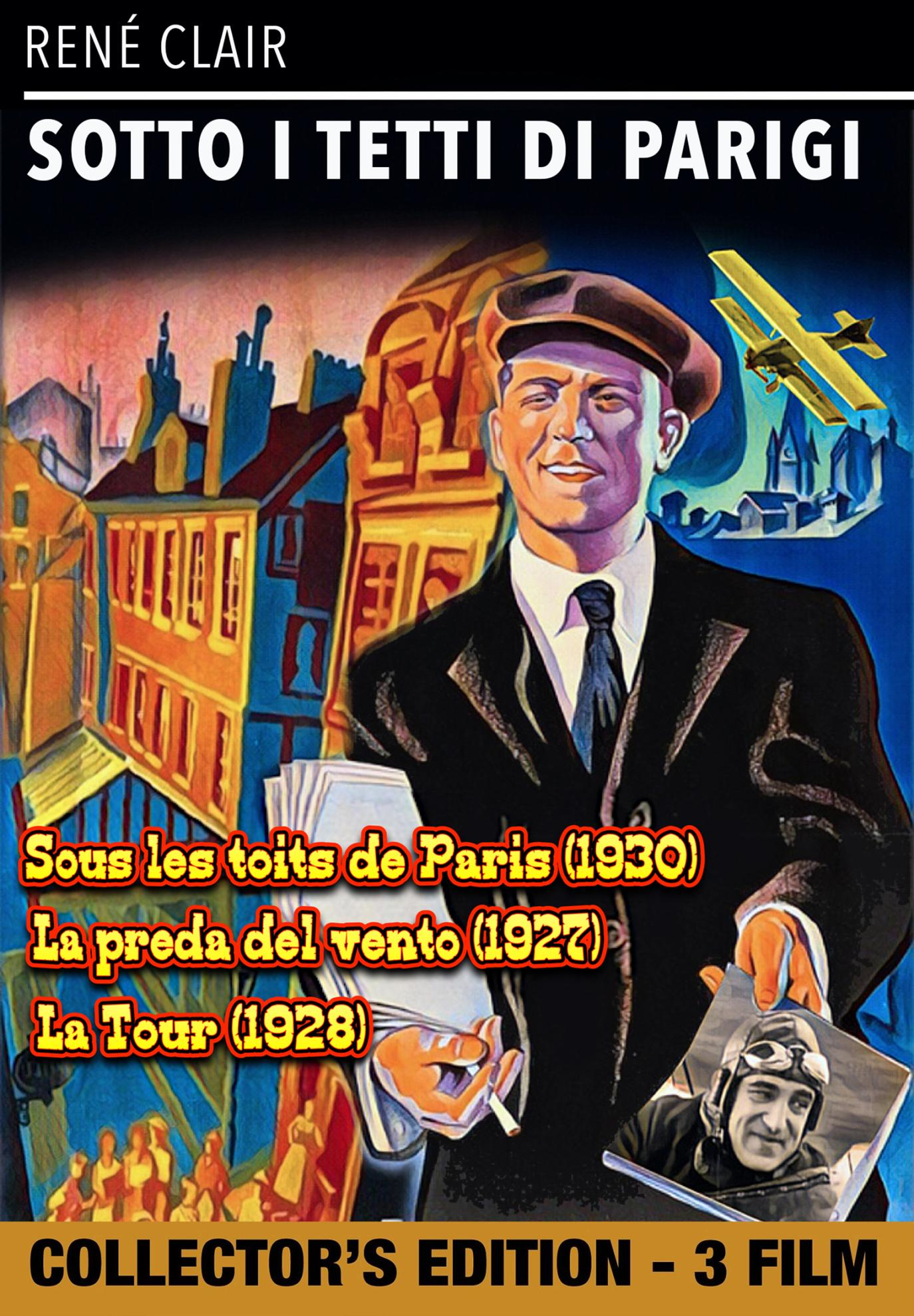 SOTTO I TETTI DI PARIGI / PREDA DEL VENTO (LA) / TOUR (LA) (DVD)