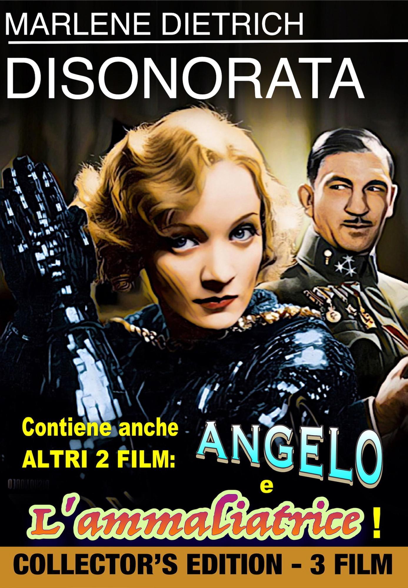 DISONORATA / ANGELO /L' AMMALIATRICE (DVD)