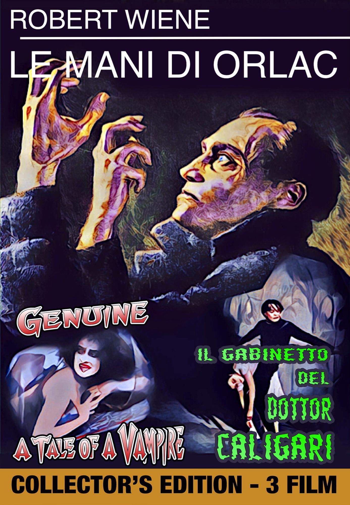 LE MANI DI ORLAC / GABINETTO DEL DR. CALIGARI (IL) / GENUINE (DV
