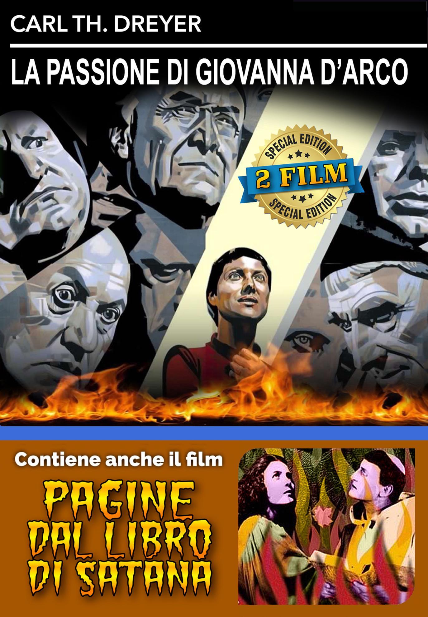 LA PASSIONE DI GIOVANNA D'ARCO / PAGINE DAL LIBRO DI SATANA (DVD