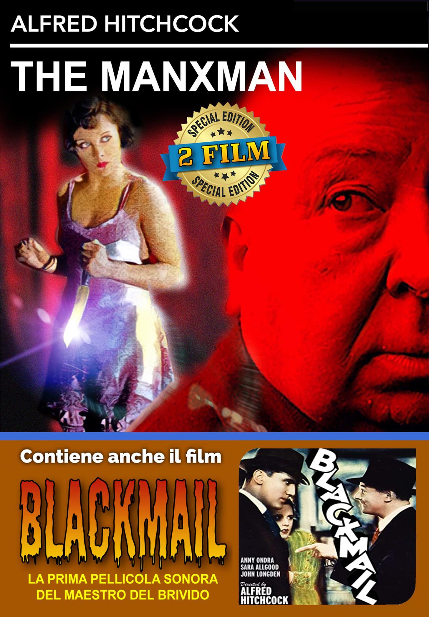 THE MANXMAN / BLACKMAIL (DVD)