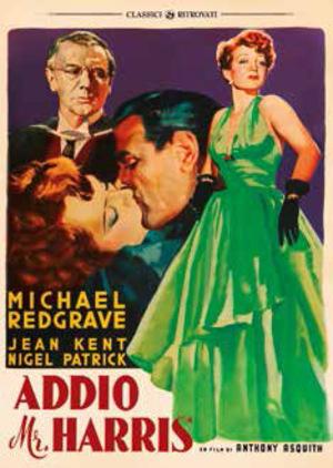 ADDIO MR. HARRIS (DVD)