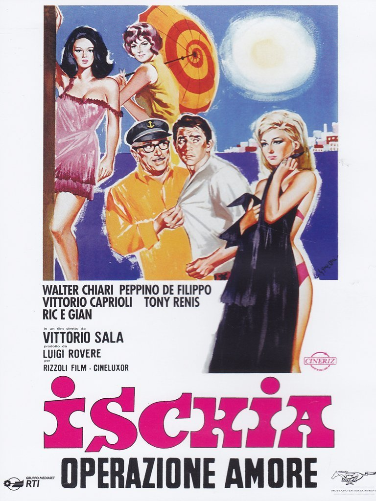 ISCHIA - OPERAZIONE AMORE (DVD)