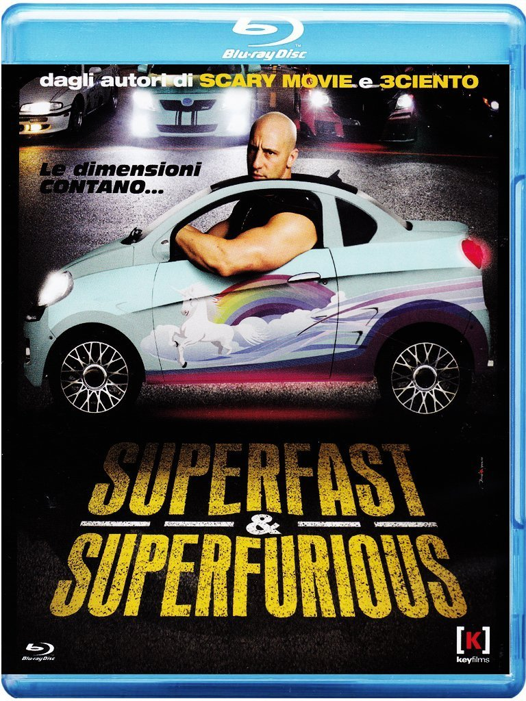 SUPERFAST & SUPERFURIOUS (BLU RAY)