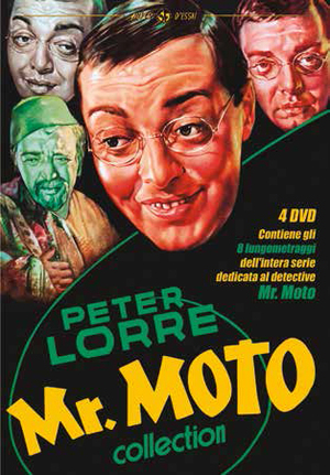 COF.MR. MOTO COLLECTION (4 DVD) (DVD)