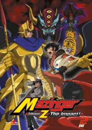 COF.MAZINGER EDITION Z THE IMPACT - BOX 02 (2 DVD) (DVD)