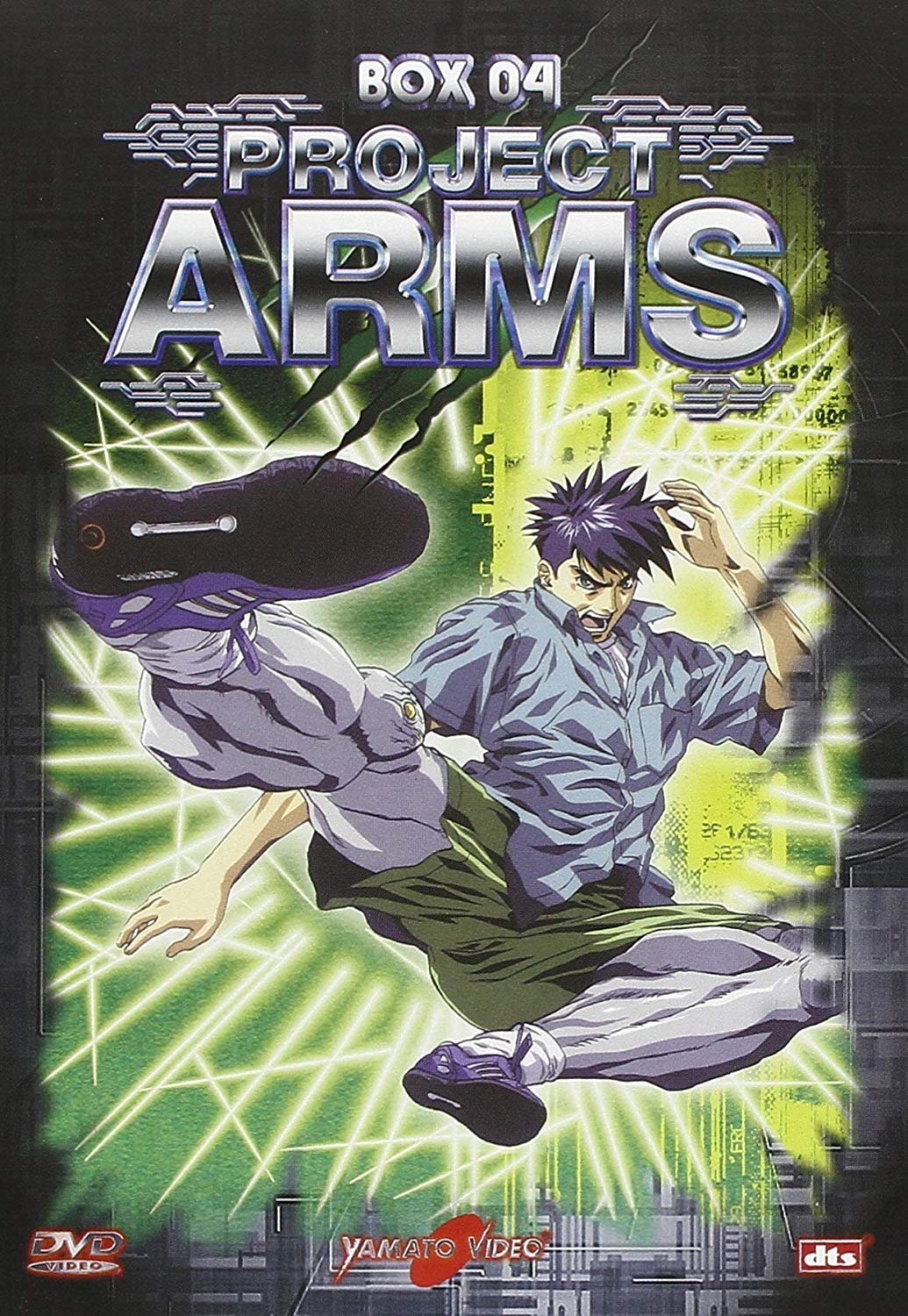 COF.PROJECT ARMS - BOX 04 (EPS 43-52) 3DVD (DVD)