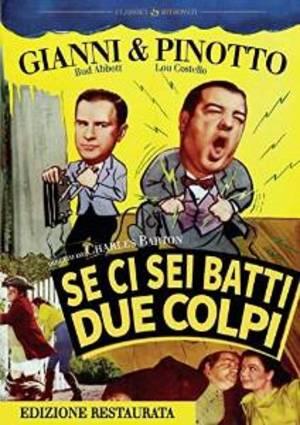 SE CI SEI BATTI DUE COLPI (EDIZIONE RESTAURATA) (DVD)