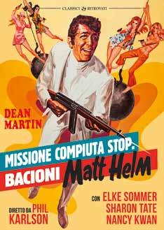 MISSIONE COMPIUTA, STOP, BACIONI MATT HELM (DVD)