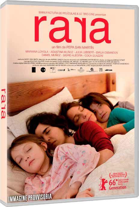 RARA - UNA STRANA FAMIGLIA (DVD)