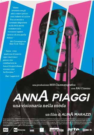 ANNA PIAGGI - UNA VISIONARIA NELLA MODA (DVD)