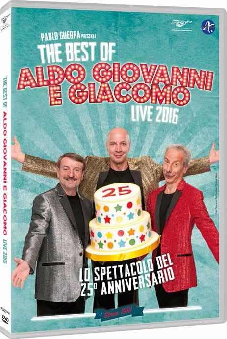 ALDO GIOVANNI E GIACOMO - THE BEST OF LIVE 2016 (DVD)
