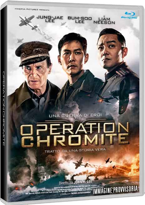 OPERATION CHROMITE - BLU RAY