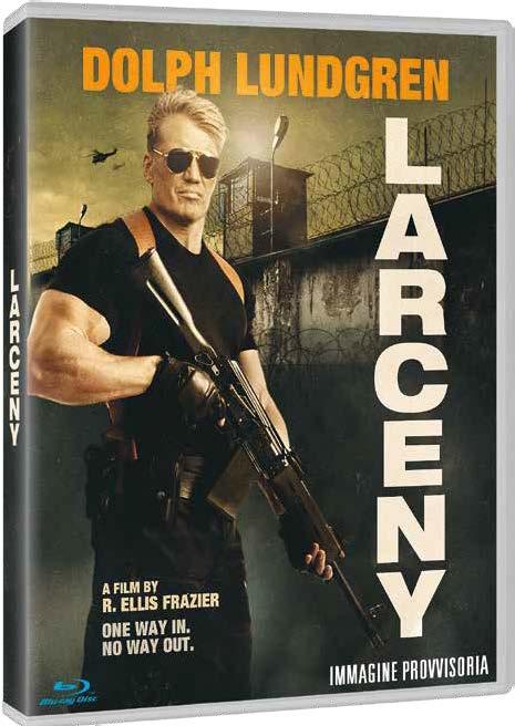 LARCENY - BLU RAY