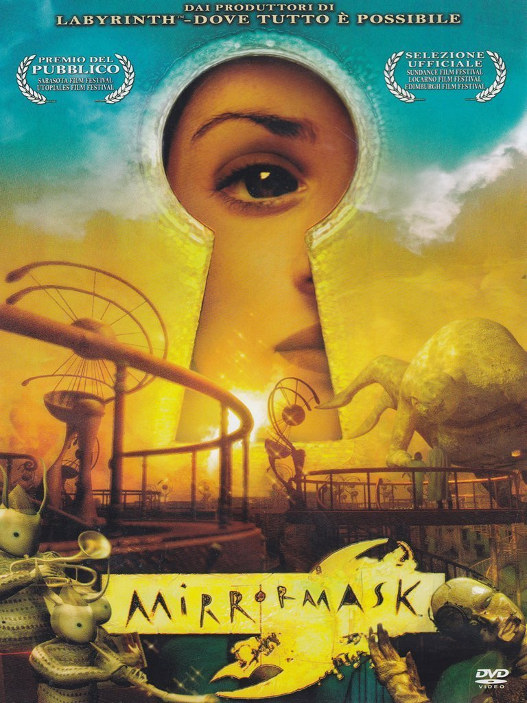 MIRROR MASK - RMX (DVD)