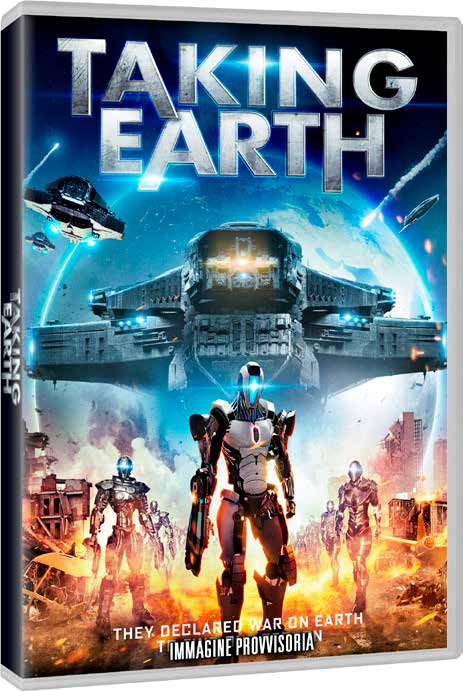 TAKING EARTH - BLU RAY
