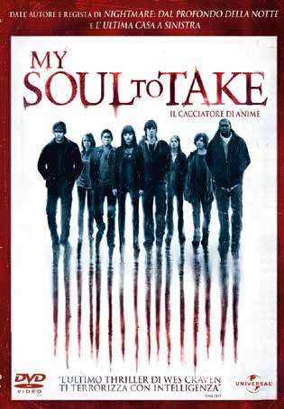 MY SOUL TO TAKE - RMX - BLU RAY