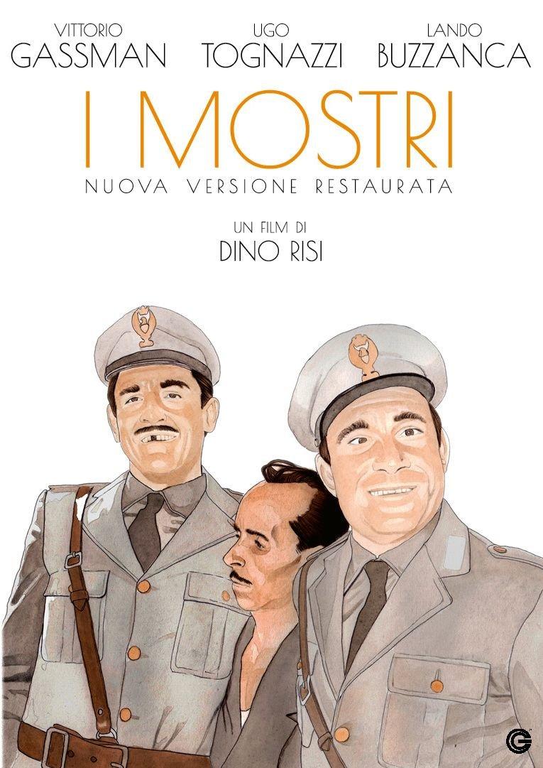 I MOSTRI (VERSIONE RESTAURATA) - RMX (DVD)