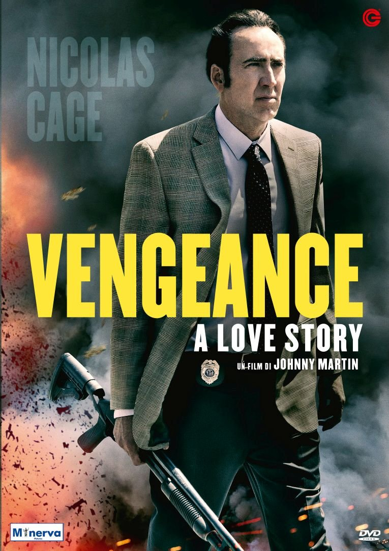 VENGEANCE - A LOVE STORY (DVD)