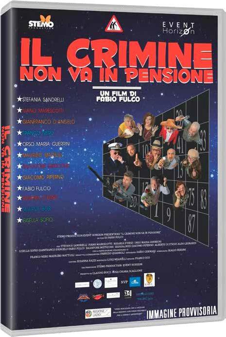 IL CRIMINE NON VA IN PENSIONE (DVD)