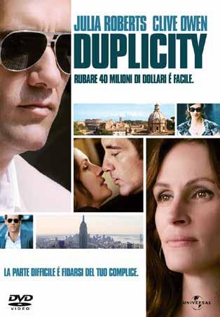 DUPLICITY - BLU RAY