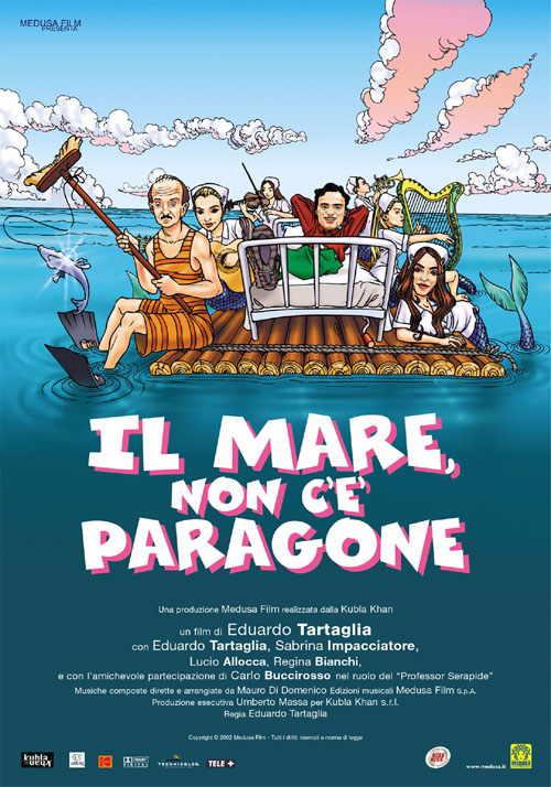 IL MARE NON C'E' PARAGONE (DVD)