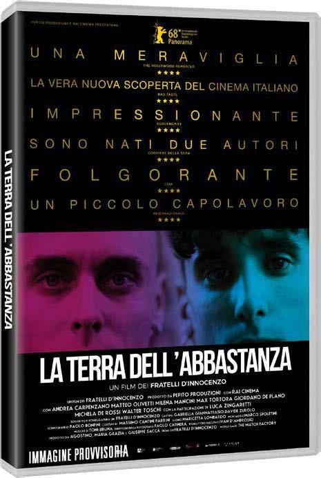 LA TERRA DELL'ABBASTANZA (DVD)