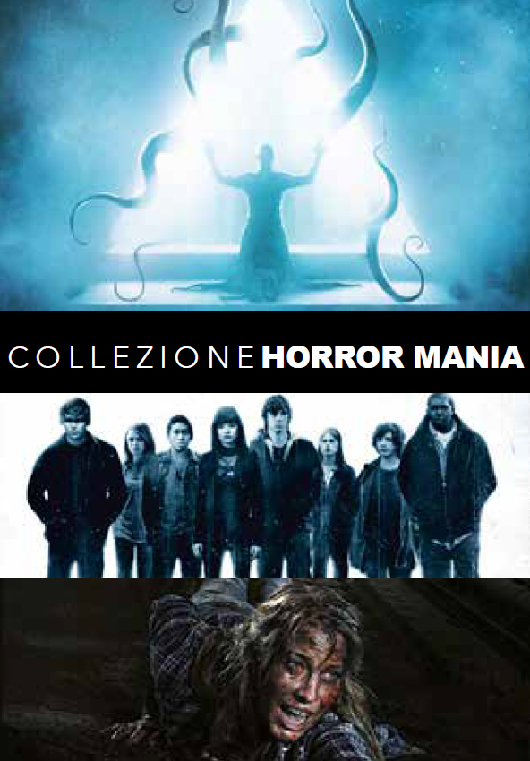 COF.HORROR MANIA (3 DVD) (DVD)