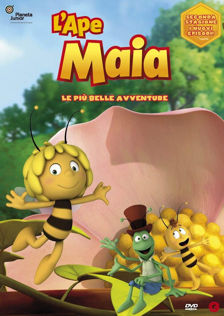 L'APE MAIA 3D - LE PIU' BELLE AVVENTURE (DVD)