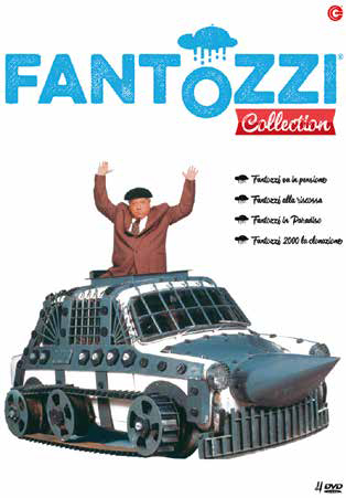COF.FANTOZZI COLLECTION (4 DVD) (DVD)