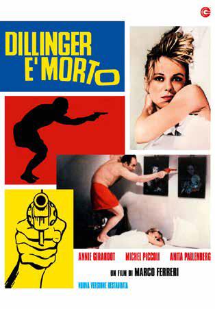 DILLINGER E' MORTO (DVD)