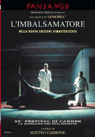 L'IMBALSAMATORE - BLU RAY