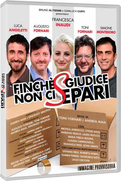 FINCHE' GIUDICE NON CI SEPARI (DVD)