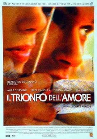 IL TRIONFO DELL'AMORE (DVD)