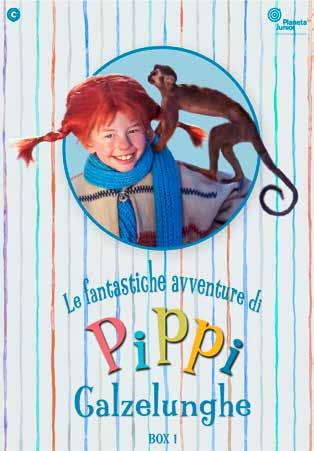 COF.PIPPI CALZELUNGHE SERIE TV #01 (4 DVD) (DVD)