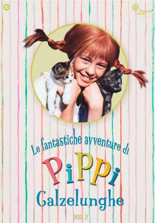 COF.PIPPI CALZELUNGHE SERIE TV #02 (3 DVD) (DVD)