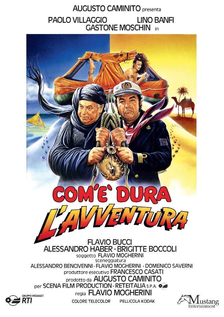 COM'E' DURA L'AVVENTURA (DVD)
