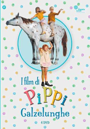 COF.PIPPI CALZELUNGHE - I FILM (4 DVD) (DVD)