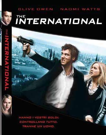 THE INTERNATIONAL (DVD)