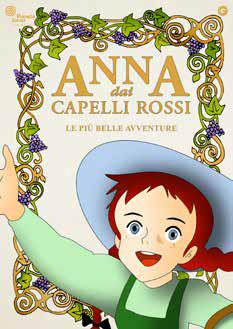 ANNA DAI CAPELLI ROSSI - LE PIU' BELLE AVVENTURE (DVD)