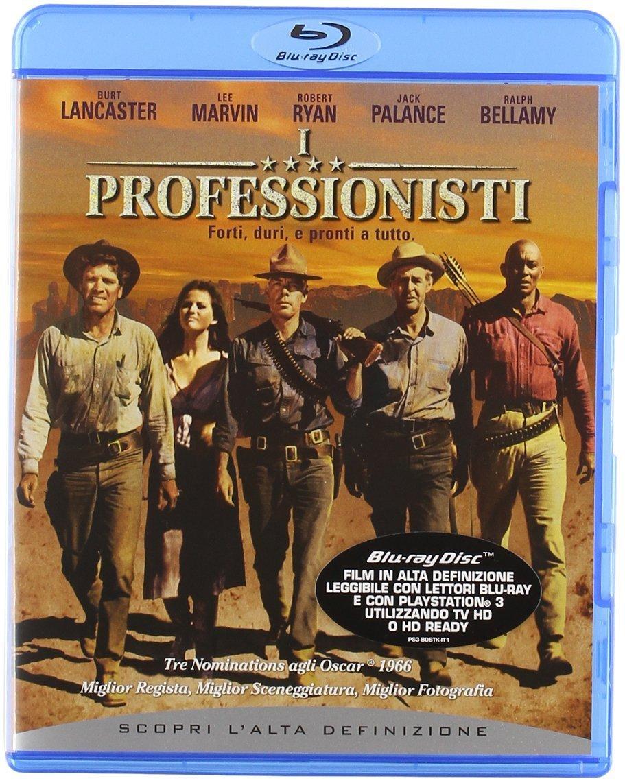 I PROFESSIONISTI - BLU RAY