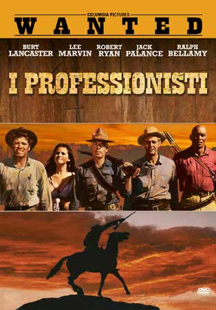 I PROFESSIONISTI (DVD)