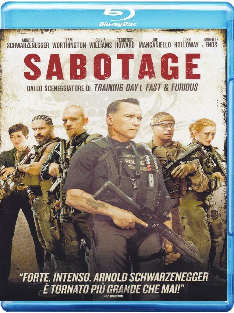 SABOTAGE 2014 - BLU RAY