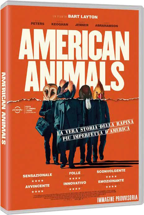 AMERICAN ANIMALS - BLU RAY