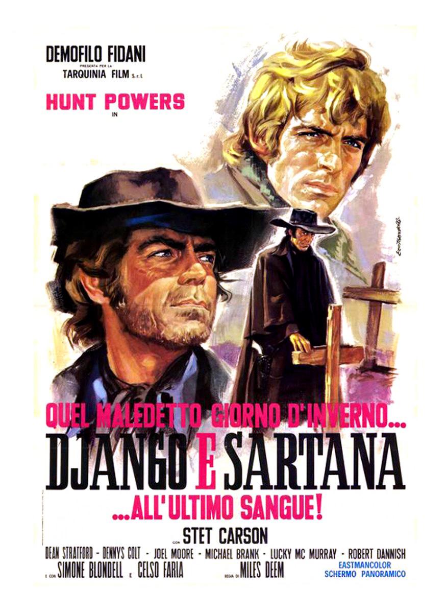 DJANGO E SARTANA ALL'ULTIMO SANGUE! (DVD)
